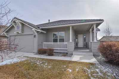 Sparks Single Family Home Active/Pending-Loan: 5712 Meadow Park