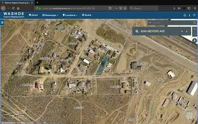 Reno Residential Lots & Land For Sale: 6545 Meyers