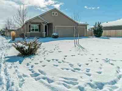 Gardnerville Single Family Home Active/Pending-Loan: 1527 Snaffle Bit Drive