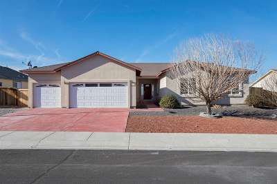 Fernley Single Family Home For Sale: 1040 Pepper Lane
