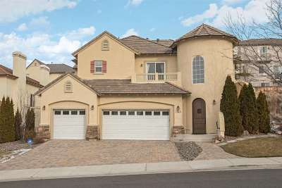 Sparks Single Family Home Active/Pending-Loan: 1740 Cloud Peak Drive