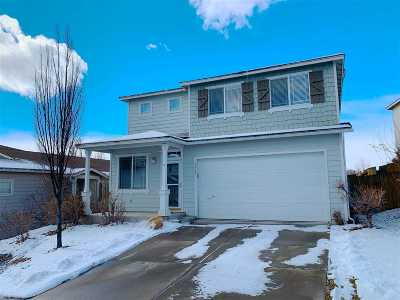 Reno Single Family Home For Sale: 2273 Sapphire Ridge