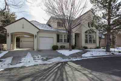 Reno Single Family Home For Sale: 1535 Caughlin Creek