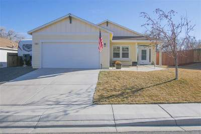 Fernley Single Family Home For Sale: 1465 Green River Lane