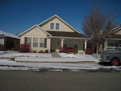Gardnerville Single Family Home Active/Pending-House: 1412 Sugar Maple