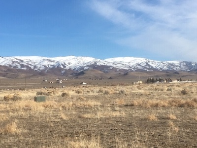 Reno Residential Lots & Land Extended: 1205 Whiskey Springs Road