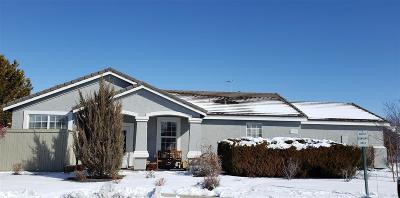 Reno Single Family Home Active/Pending-Loan: 1672 Iron Mountain
