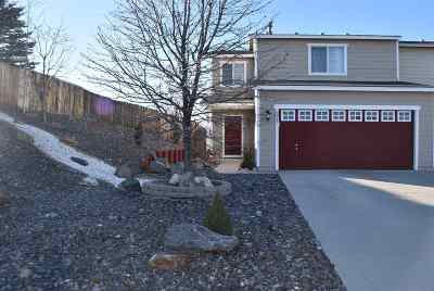 Reno Single Family Home Active/Pending-Loan: 8817 Sunset Breeze Drive