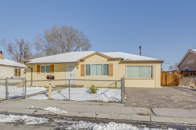 Sparks Single Family Home Active/Pending-Loan: 314 L St