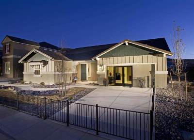 Reno Single Family Home New: 10534 Claim Jumper Way