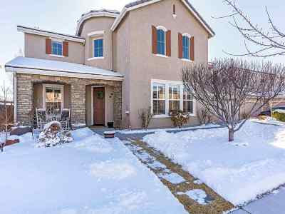 Sparks NV Single Family Home For Sale: $494,900