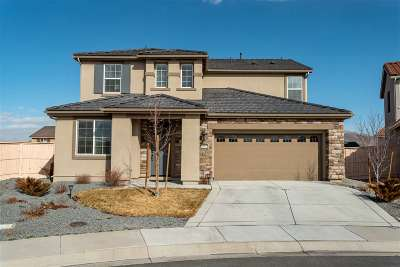 Reno Single Family Home New: 10574 Washington Park