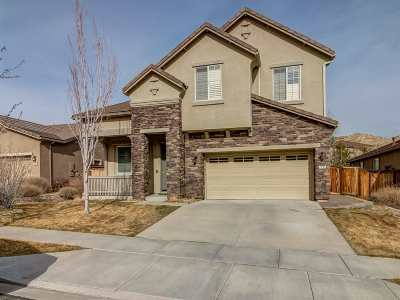 Reno Single Family Home New: 7755 Great Basin