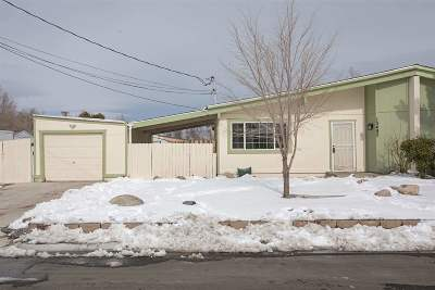 Reno Single Family Home Active/Pending-Call: 13492 Mount Shasta St