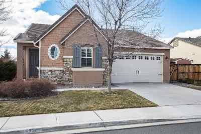 Sparks NV Single Family Home New: $419,000