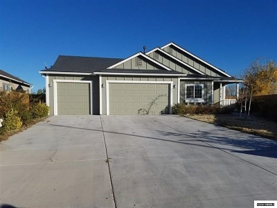 Fernley Single Family Home Active/Pending-Call: 800 Canary