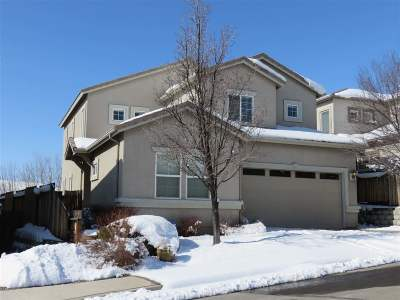 Reno Single Family Home New: 8080 Highland Flume Circle