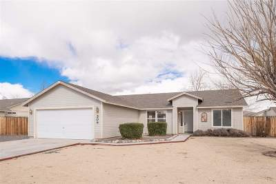 Fernley Single Family Home New: 506 Darren Way