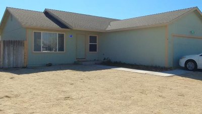 Fernley Single Family Home Active/Pending-Loan: 213 Endeavor