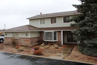 Carson City Single Family Home For Sale: 2300 S Lompa