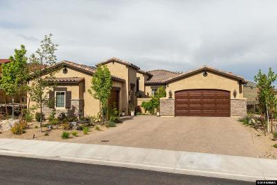 Reno Single Family Home For Sale: 3172 Vista Favoloso