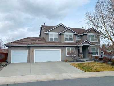 Washoe County Single Family Home New: 16156 Galena Meadows