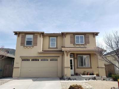 Washoe County Single Family Home Extended: 2396 Clementine