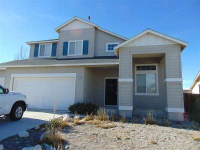 Fernley Single Family Home Active/Pending-Call: 1618 Laverder
