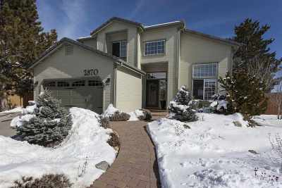 Reno Single Family Home Active/Pending-Loan: 2870 Brittania Court