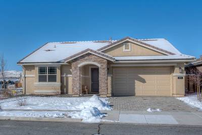 Sparks NV Single Family Home New: $399,000