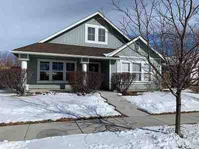 Gardnerville Single Family Home Active/Pending-House: 1280 White Ash Drive