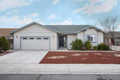 Fernley Single Family Home For Sale: 2127 Fort Bridger Road