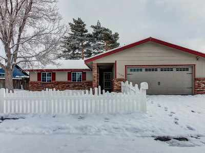 Carson City Single Family Home Active/Pending-Call: 1325 Sonoma St.