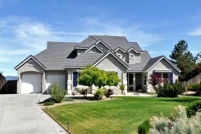 Reno Single Family Home Active/Pending-Loan: 3466 Forest View Court