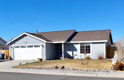 Fernley Single Family Home Active/Pending-Loan: 432 Trellis