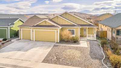 Fernley Single Family Home For Sale: 1015 Aster Lane