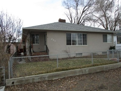 Winnemucca Single Family Home For Sale: 241 W Shepard