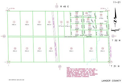 Battle Mountain Residential Lots & Land For Sale: 1345 James Madison