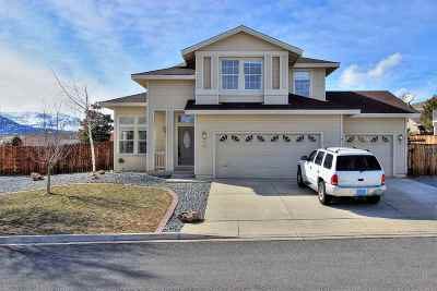 Washoe County Single Family Home Active/Pending-Call: 4011 White Rock Ct