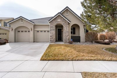 Sparks Single Family Home Active/Pending-Loan: 4070 Mystery Dr