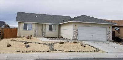 Fernley Single Family Home Active/Pending-Call: 108 Relief Springs
