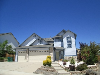 Reno Single Family Home Price Reduced: 3321 Green River Drive
