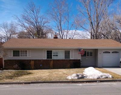 Carson City Single Family Home Active/Pending-Loan: 810 S Division