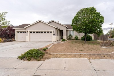 Silver Springs Single Family Home For Sale: 3230 Spring Circle