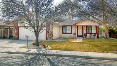 Sparks Single Family Home Active/Pending-Call: 1403 Satellite