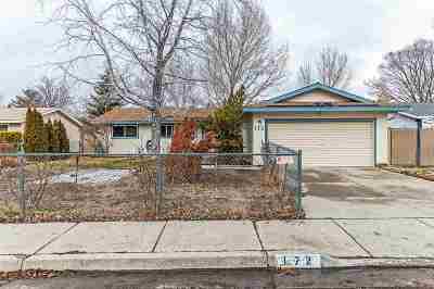 Carson City Single Family Home Price Reduced: 172 E Applegate