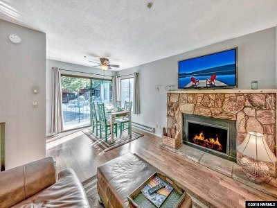 Stateline, Glenbrook, Zephyr Cove, Crystal Bay, Incline Village Condo/Townhouse For Sale: 313 Tramway Drive #18