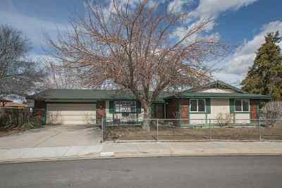 Sparks Single Family Home Active/Pending-Loan: 260 Gleeson