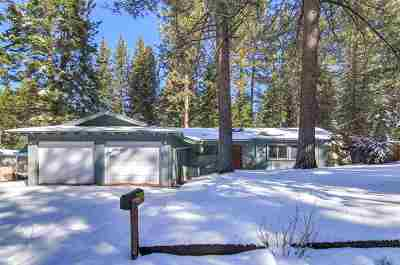 South Lake Tahoe CA Single Family Home For Sale: $475,000