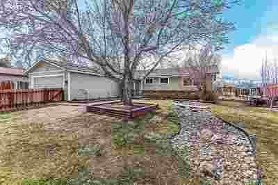 Carson City Single Family Home Active/Pending-House: 1412 Stanford Dr.